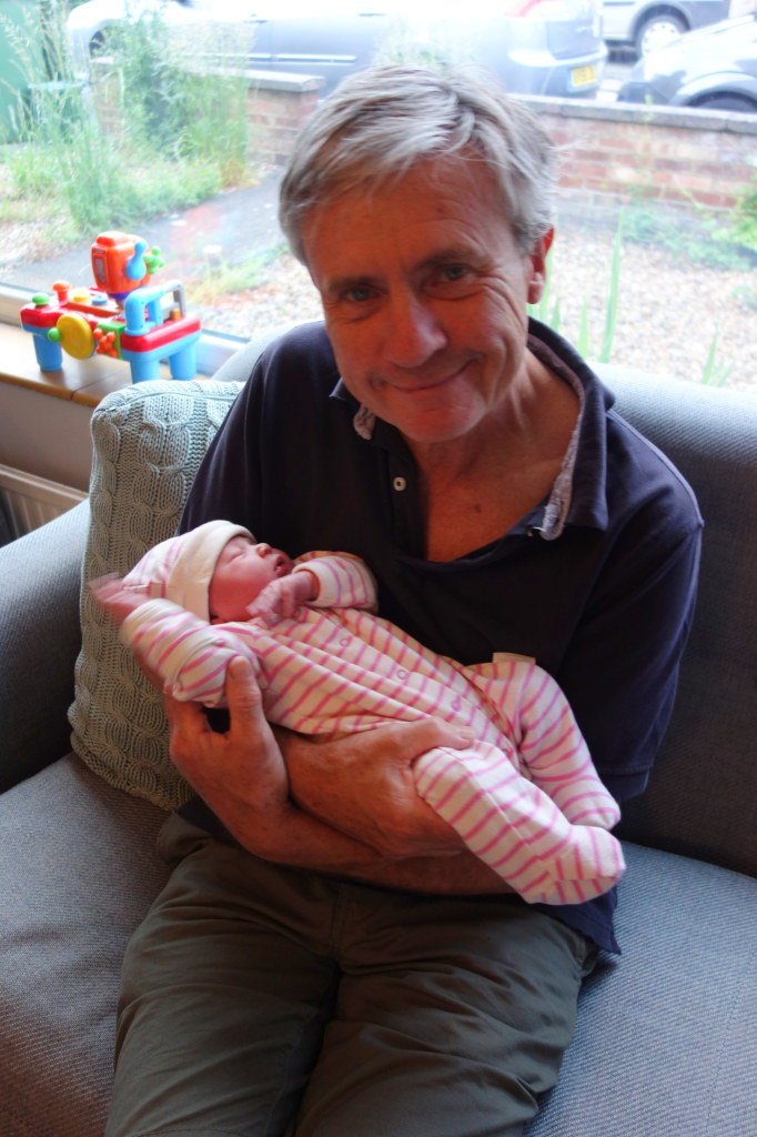 Dad and Evie