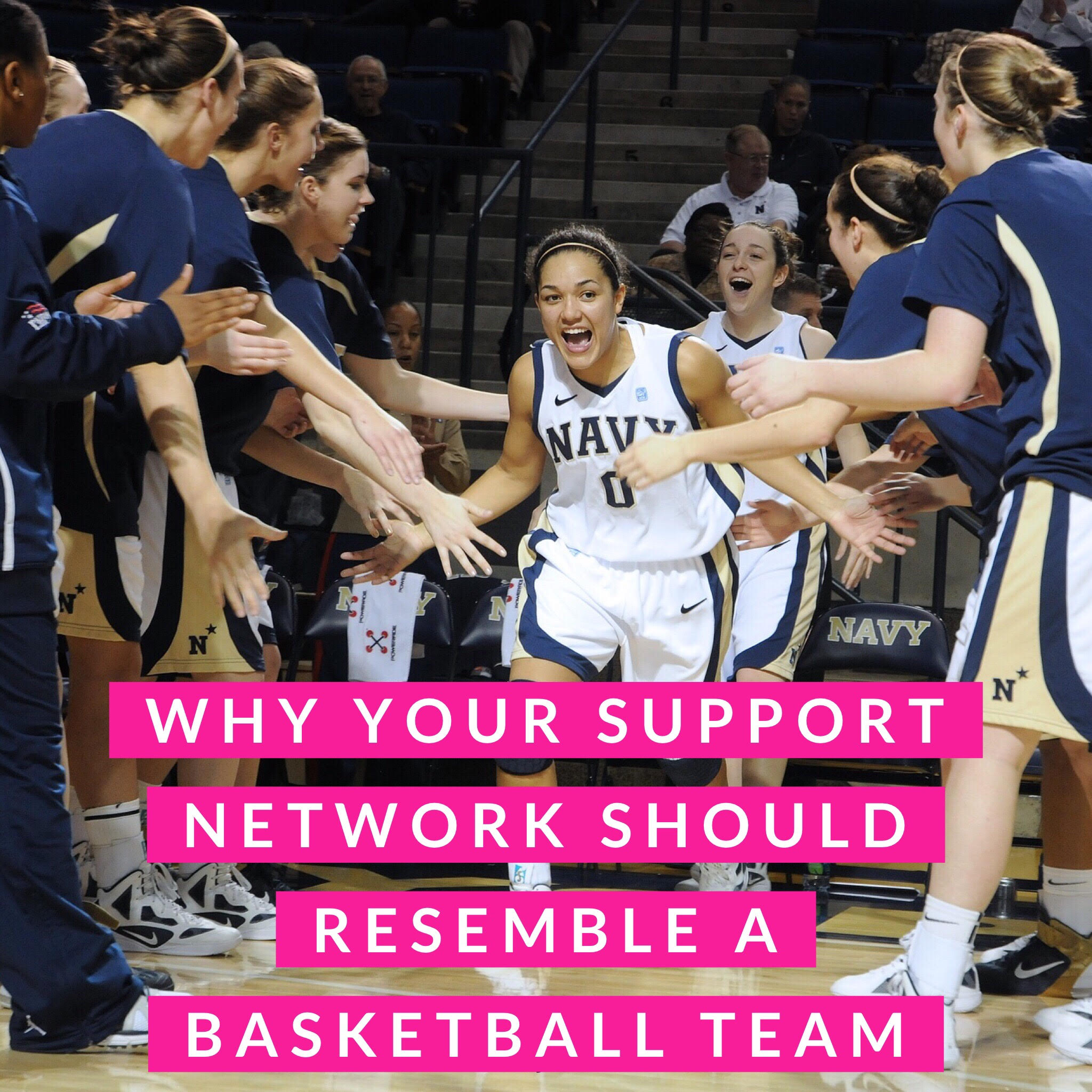 Why your support network should resemble a basketball team!