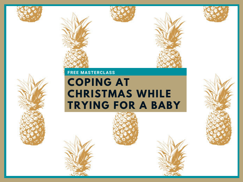Coping at Christmas while trying for a baby