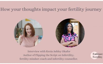 How your thoughts impact your fertility journey – Interview with Kezia Ashley Okafor