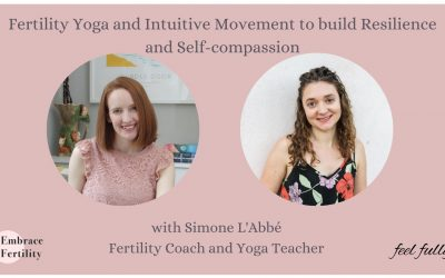 Fertility Yoga and Intuitive Movement to build Resilience and Self-compassion